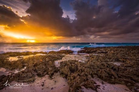 Hugh Walker Sunrise At Surfers Point (1)