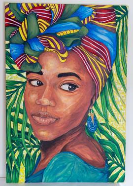 Nyssa Haynes Holder 'West Indian Woman'
