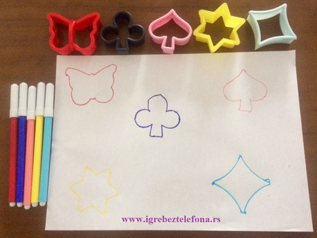 Pronadji oblik modlica, matematička igra