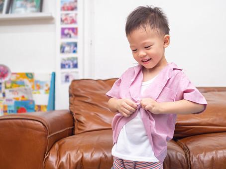 Kako da naučimo dete da se oblači samo?