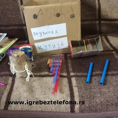 Muzička kutija, kako razvijati ritam kod dece