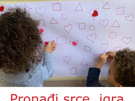 Pronađi srce, matematička igra za Dan zaljubljenih