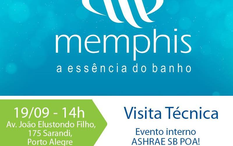 O ASHRAE Porto Alegre Student Branch realizou uma visita técnica na empresa Memphis S/A.