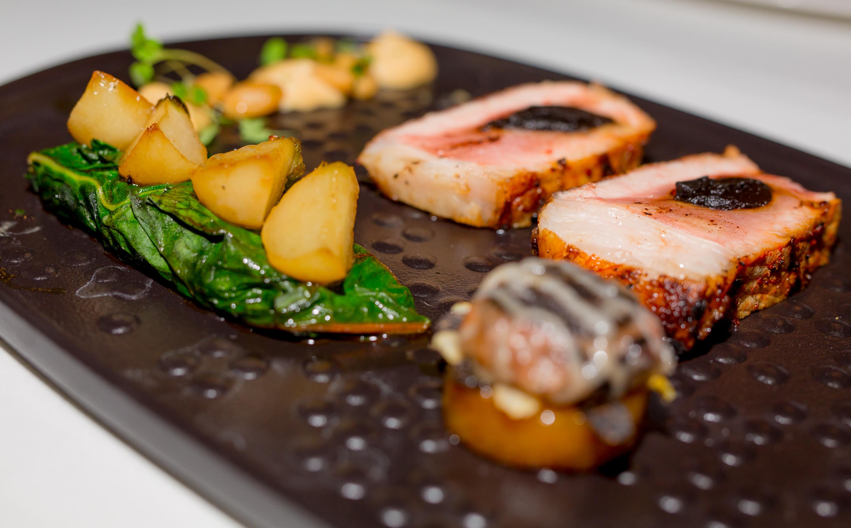 Plat Carré de porc noir de Bigorre