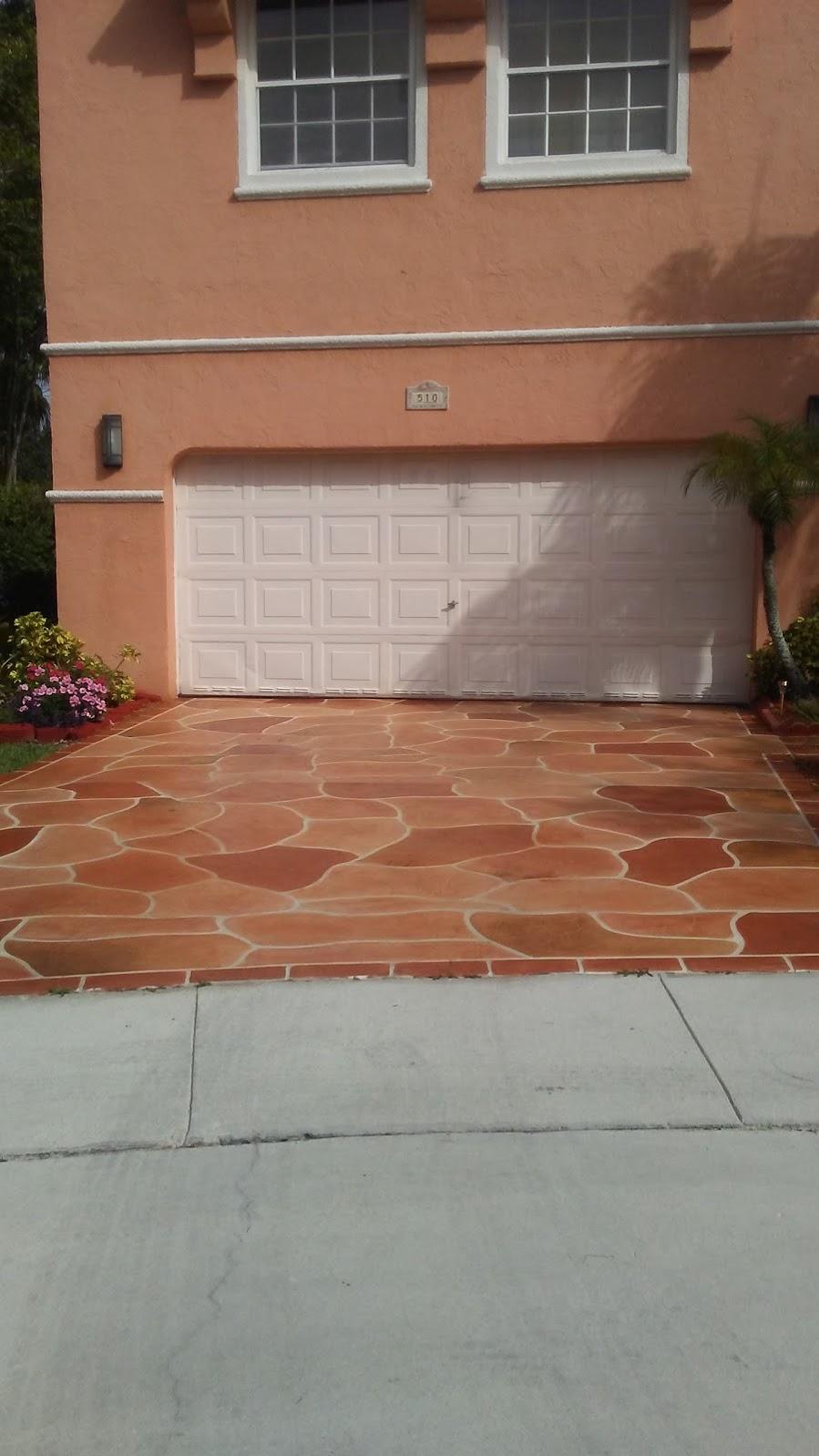 Marble Driveway-Florida 1