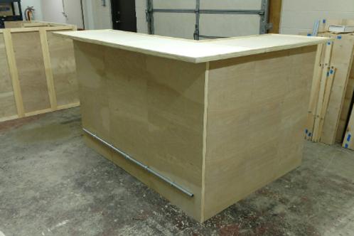 Convert bar to flat exterior panels