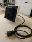USB charging power station with 10 foot cord
