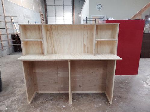 "Home Bar Furniture, 72"" Back Bar, Wet Bar, Shelving and appliance storag"