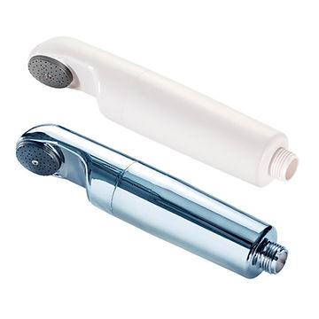 Legionella Shower filters chrome and white models, AS Shower
