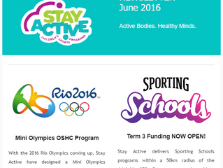 Stay Active Newsletter June 2016
