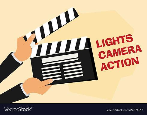 cinema-lights-camera-action-flat-vector-
