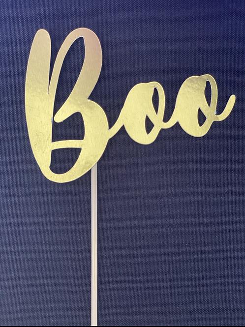 Topo de Bolo Boo