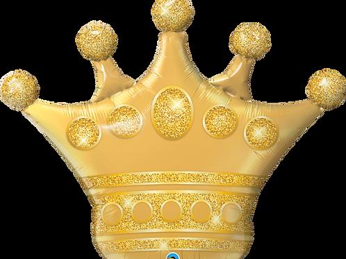 Balão Coroa Dourada