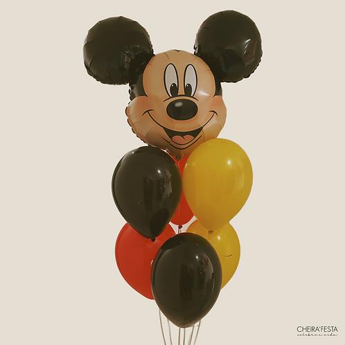 Bouquet Mickey com hélio