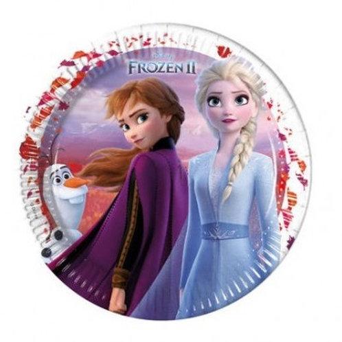 Pratos Frozen 23cm