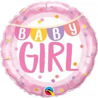 Balão Baby Girl 46cm