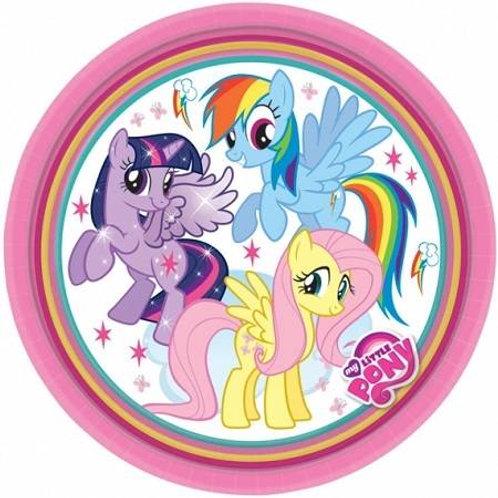 Pratos My Little Pony 23cm