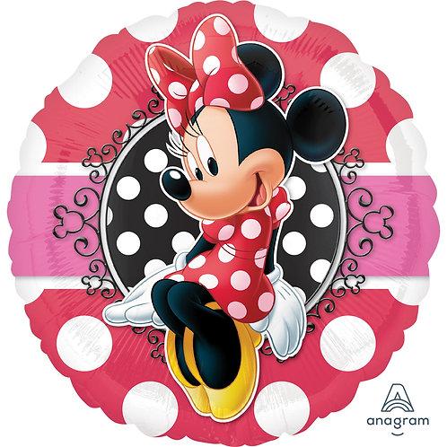 Balão Minnie Potrait 43cm