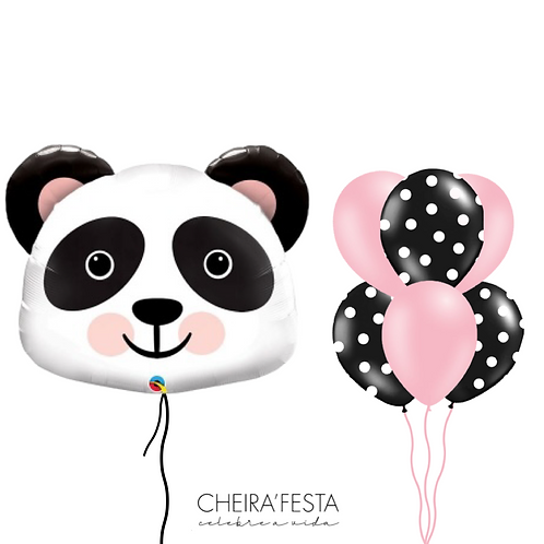 Balão Panda 🐼