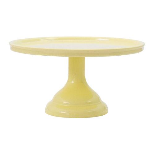 Prato de bolo: Pequeno - Amarelo