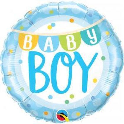 Balão Baby Boy 46cm
