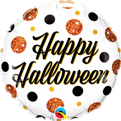 Balão Happy Halloween Laranja