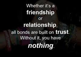 Trust: A Priceless responsibility