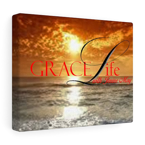 Grace Life Sunset Gallery Wraps