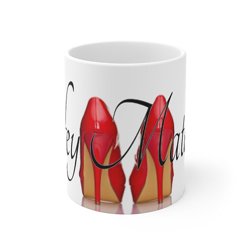 Wifey Material Mug (Paired with Book The Ministry of a Wife)