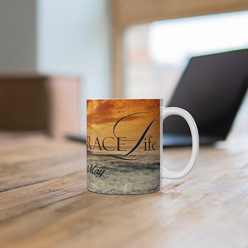Grace Life Sunset Mug