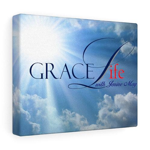 Grace Life Sky Gallery Wraps
