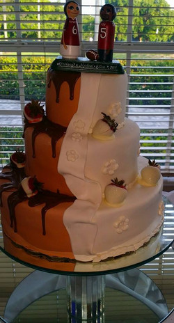 Bride and Grooms Cake