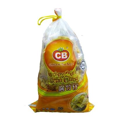 CB Crispy Mini Bean Curd 腐竹皮酿鱼肉 (50 pcs)