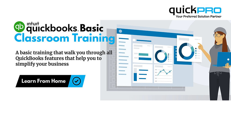 QuickBooks Basic Classroom Training