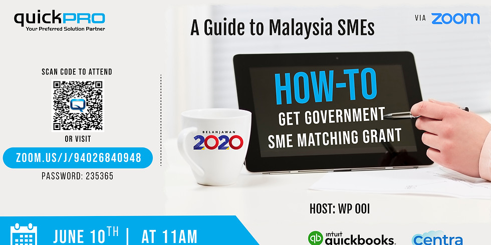 How-to Get Government SME Matching Grant