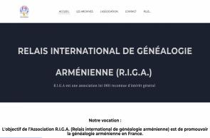 Naissance d'une association de généalogie arménienne : RIGA