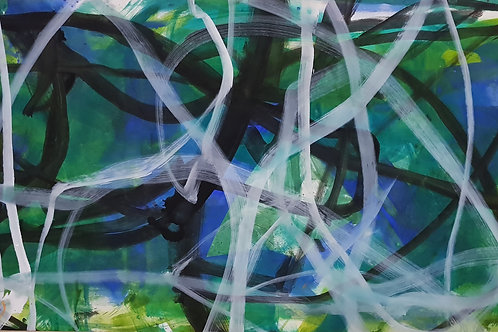 E 125cm x 250cm Oil/Canvas