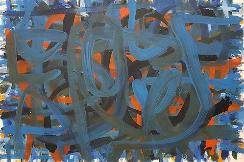 PB#BLUE  1,20cm x 0,84cm Oil/Canvas