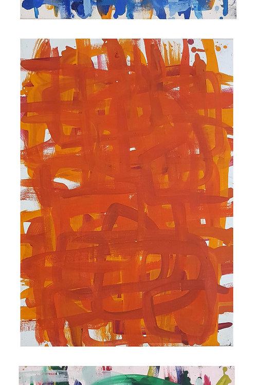Vertical 3 // P#'s-29-40-&-53--0,42cm x 0,60cm Oil/Canvas