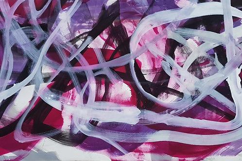 F 125cm x 250cm Oil/Canvas