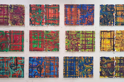 24 x 0,42cm x 0,60cm Oil/Canvas
