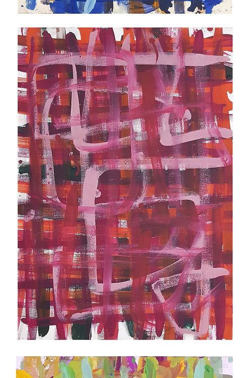 Vertical 2 // P#'s-27-37-&-52--0,42cm x 0,60cm Oil/Canvas
