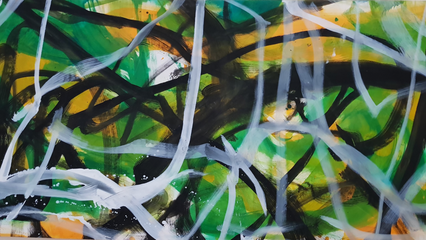 CH#VEOR 1,25m x 2,50m nov. 2017 oil/Canvas I.STOLNICKI
