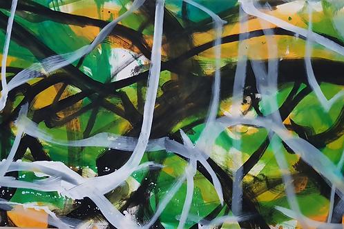 C 125cm x 250cm Oil/Canvas