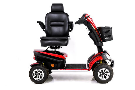 President full scooter image with seat t