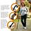 Thumbnail: FLEXYFOOT Premium Oval Handle Folding Walking Stick