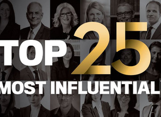 Winner: Top 25 Most Influential Lawyer in Canada 2019