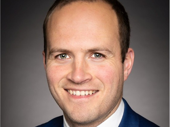 Liberal MP for Beaches-East York Nathaniel Erskine-Smith