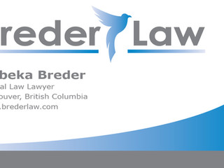 BREDER LAW OPENS NEW OFFICE IN GASTOWN