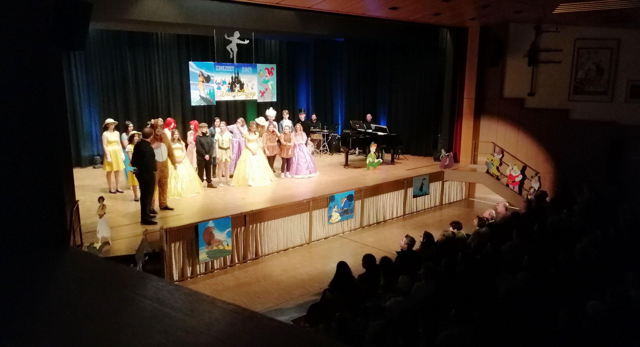 Walt Disney Konzert in Balzers 1